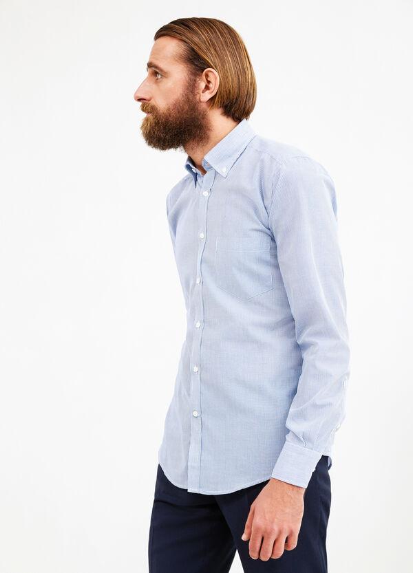 Camicia formale misto cotone slim fit | OVS