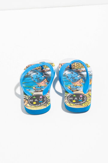 Printed thong sandals by Maui and Sons, Multicolour, hi-res