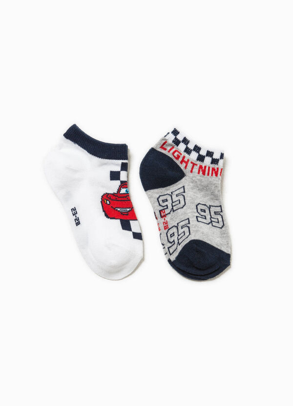Two-pack short Cars socks | OVS