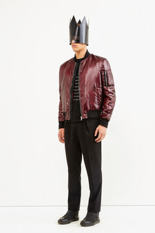 Bomber Jean Paul Gaultier for OVS, Nero, hi-res