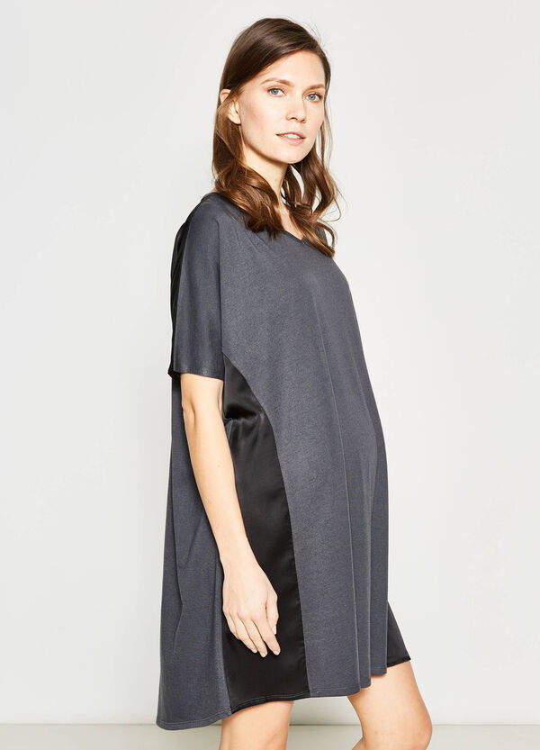 MUM dress with inserts in contrasting colour | OVS