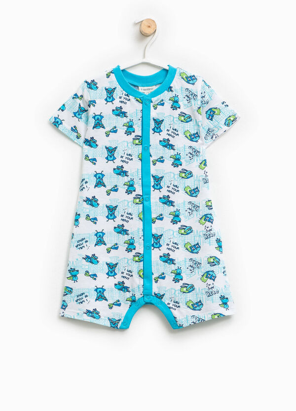 Patterned sleepsuit | OVS