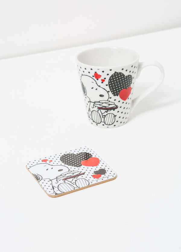 Snoopy cup and coaster set | OVS