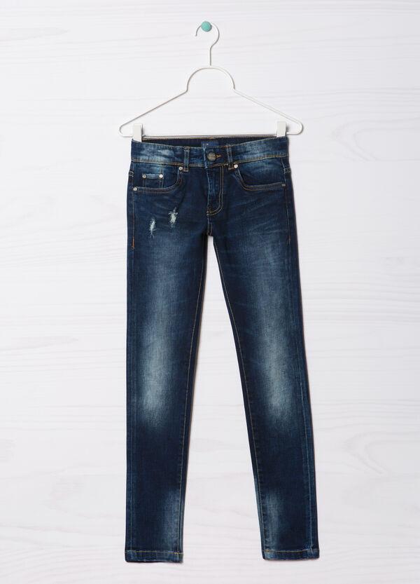 Slim-fit Blue Black jeans | OVS