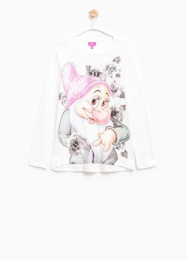 Seven Dwarves print cotton T-shirt | OVS