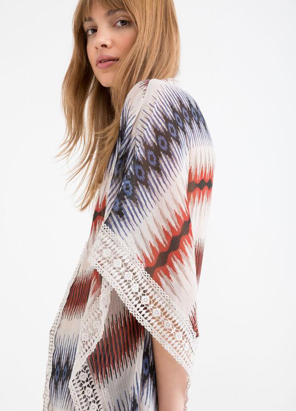 Blusa semi trasparente traforata | OVS
