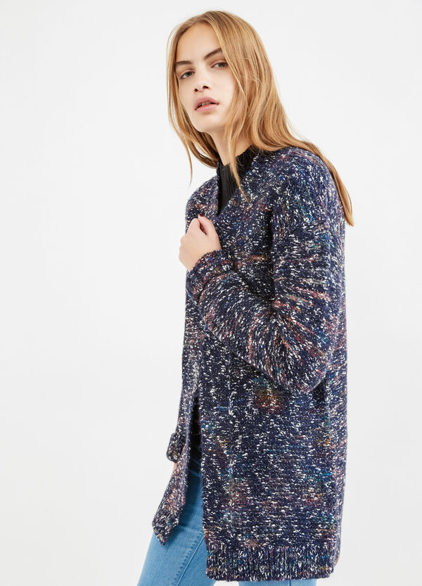 Wool and cotton blend cardigan | OVS