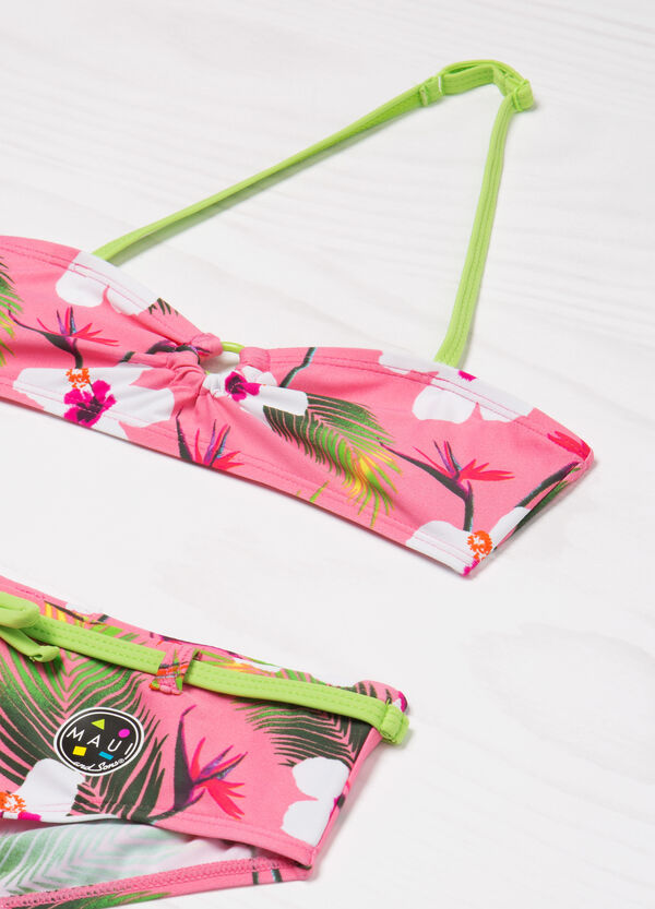 Patterned stretch bikini by Maui and Sons | OVS
