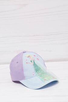 Cotton baseball cap, Blue, hi-res