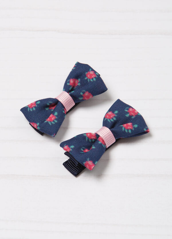 2-pack patterned hair clips | OVS
