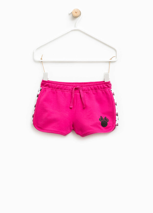 Stretch cotton Minnie Mouse shorts | OVS