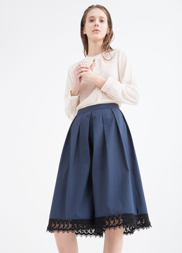 100% cotton culottes | OVS