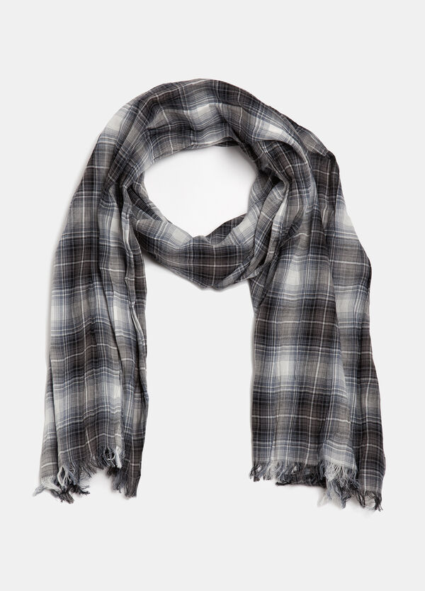 Sciarpa cotone tartan | OVS