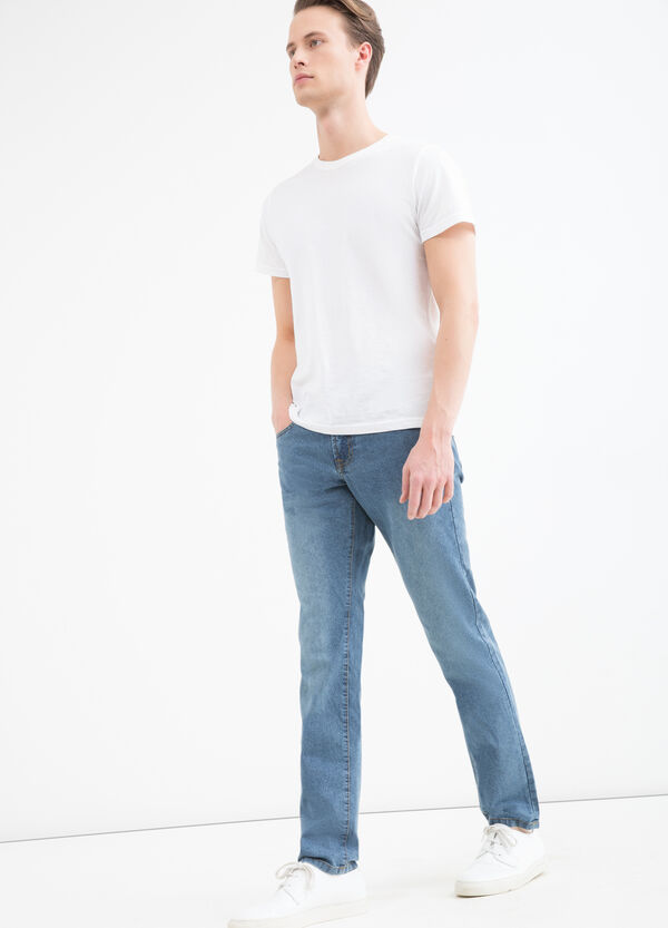 5-pocket, slim-fit jeans. | OVS