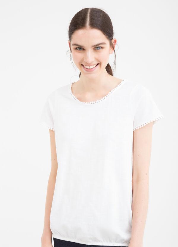 T-shirt girocollo in puro cotone | OVS