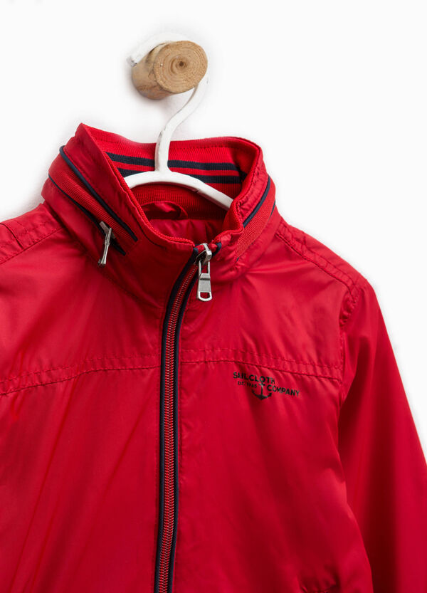 Jacket with high neck with zip | OVS