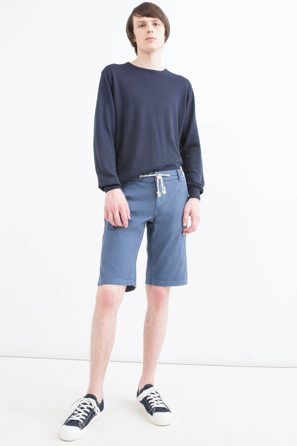 G&H stretch Bermuda shorts with drawstring | OVS