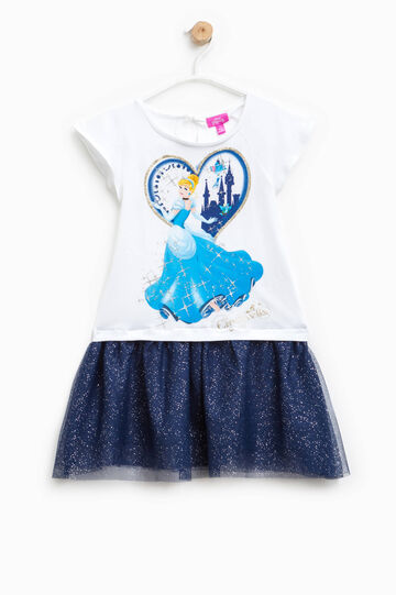 Dress with Cinderella print