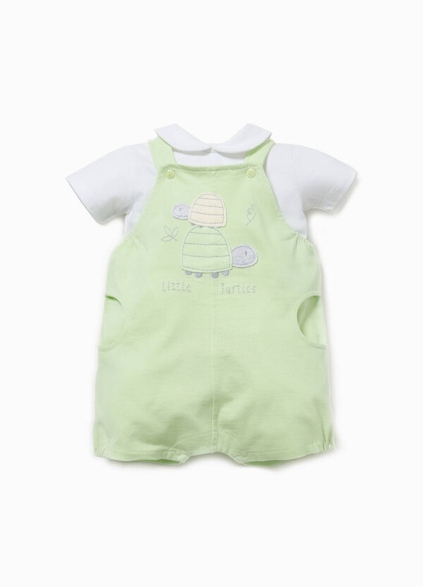 T-shirt and sleeveless onesie outfit | OVS