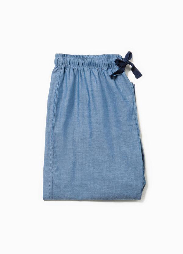Pantalón de pijama en mezcla de algodón | OVS
