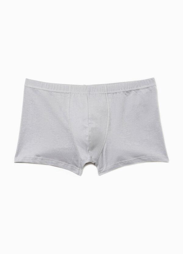 Bóxer en algodón 100% en color liso | OVS