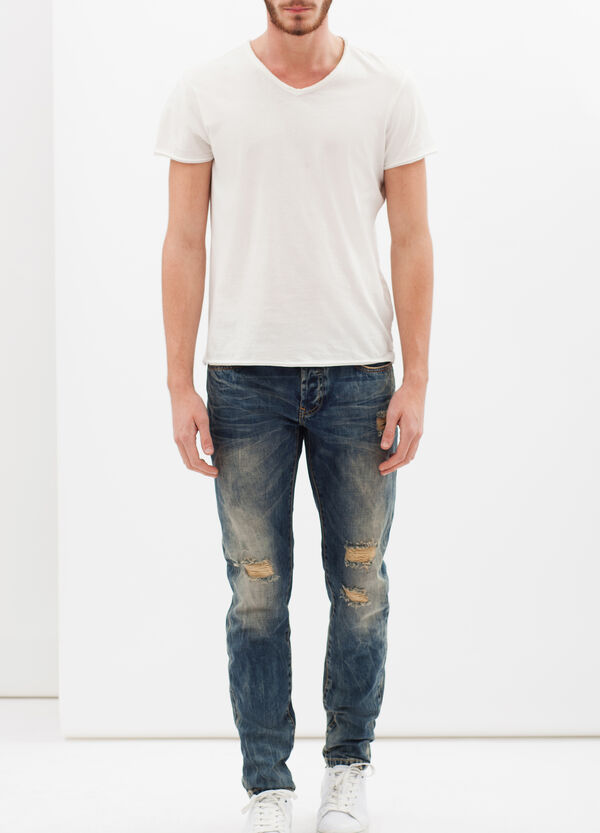 Ripped jeans | OVS