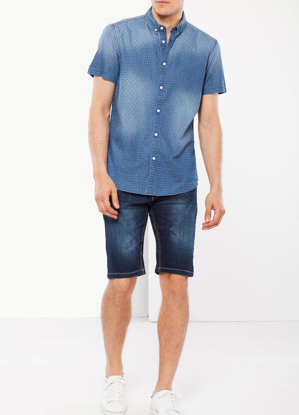 Camicia denim rombi G&H | OVS