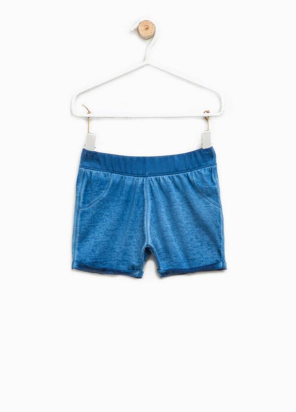Misdyed-effect shorts | OVS