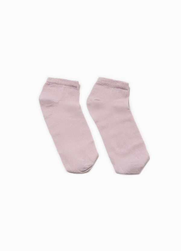 Short socks with lurex | OVS