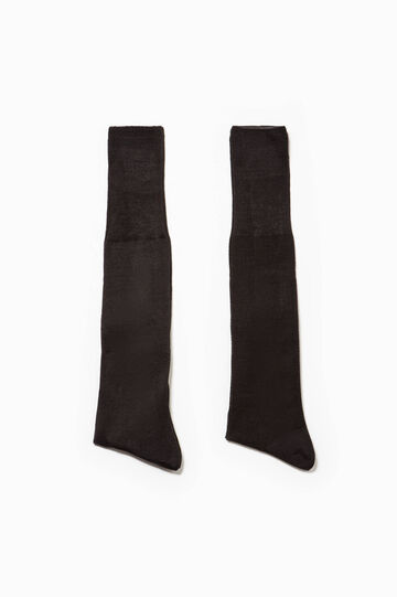 Two-pair pack short socks in Egyptian cotton, Slate Grey, hi-res
