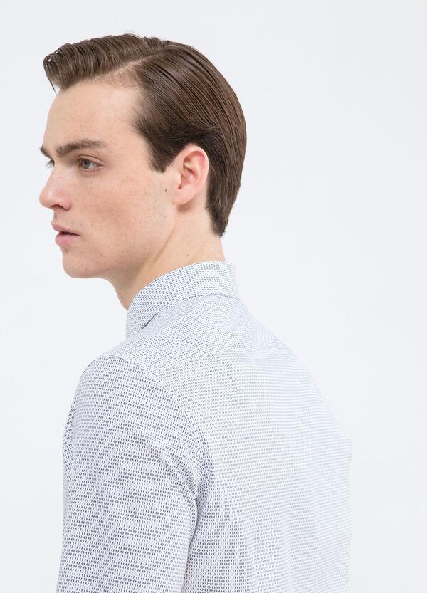 Camicia misto cotone con stampa | OVS