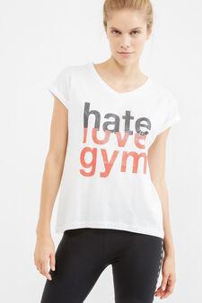 OVS Active Sport Training T-shirt, White, hi-res