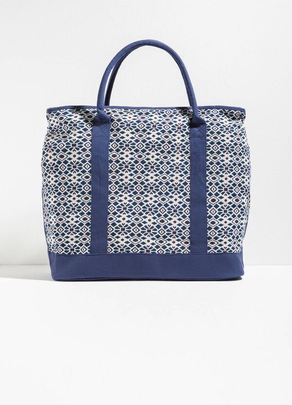 Ethnic pattern beach bag | OVS