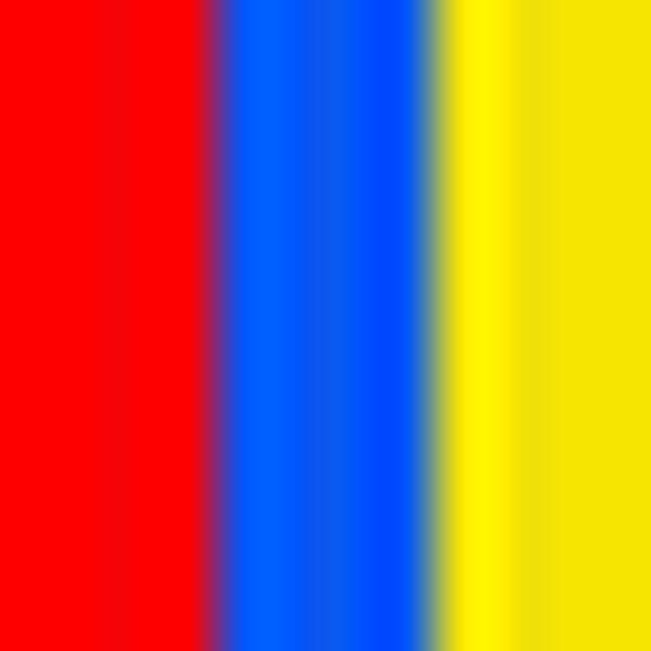 Brasiliano cotone stretch stampa, Rosso/Blu/Giallo, swatch