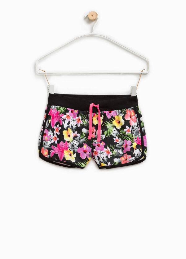Shorts with Mickey and Minnie Mouse print | OVS