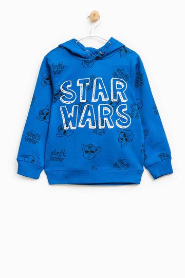 Star Wars patterned cotton hoodie