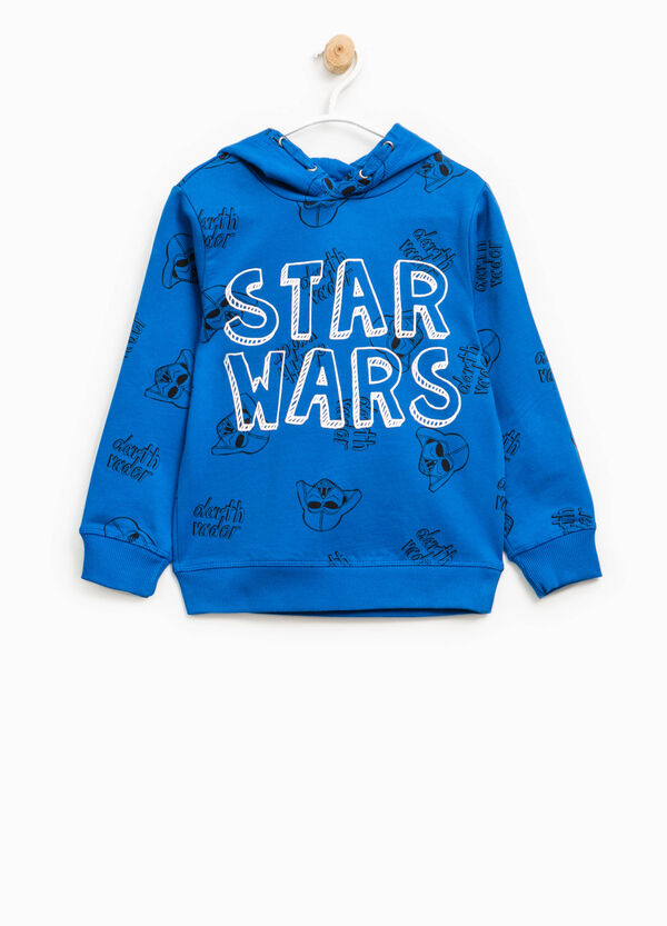 Star Wars patterned cotton hoodie | OVS