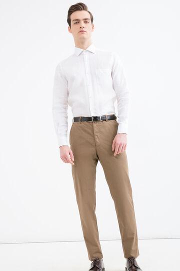 Rumford 100% cotton trousers, Khaki, hi-res