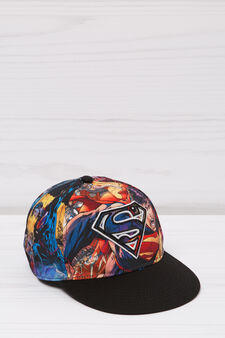 Superman baseball cap, Black, hi-res