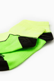 Two-pack embroidered sports socks, Multicolour, hi-res