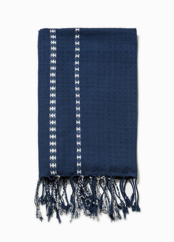 Cotton scarfs with ethnic embroidery | OVS