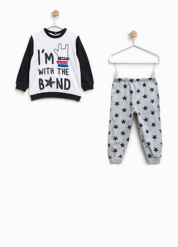 Pyjamas with print and stars pattern | OVS