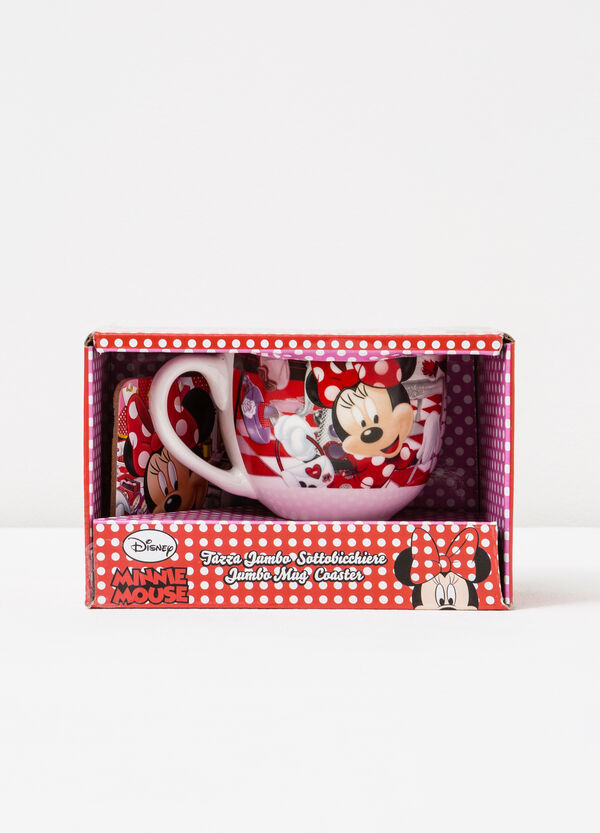 Minnie Mouse cup and coaster set | OVS