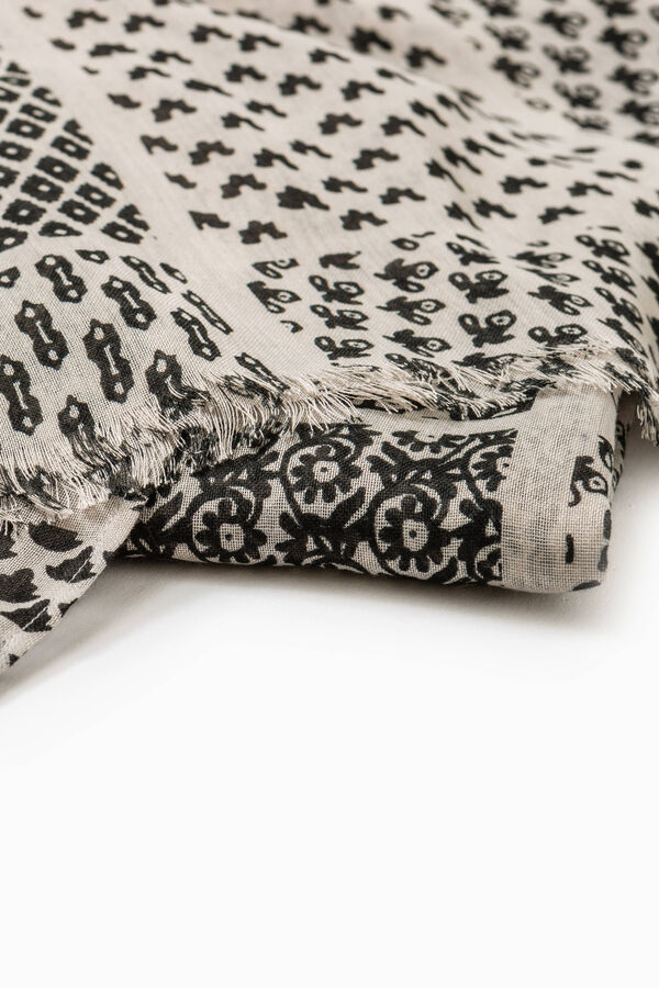 Scarf with all-over print | OVS