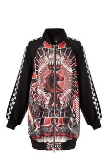Bomber stampa Jean Paul Gaultier for OVS, Multicolor, hi-res
