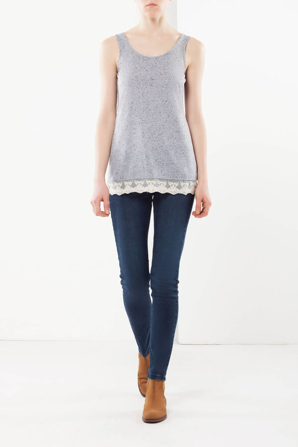 Lace tank top   OVS