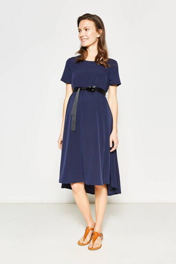 MUM dress with knotted belt