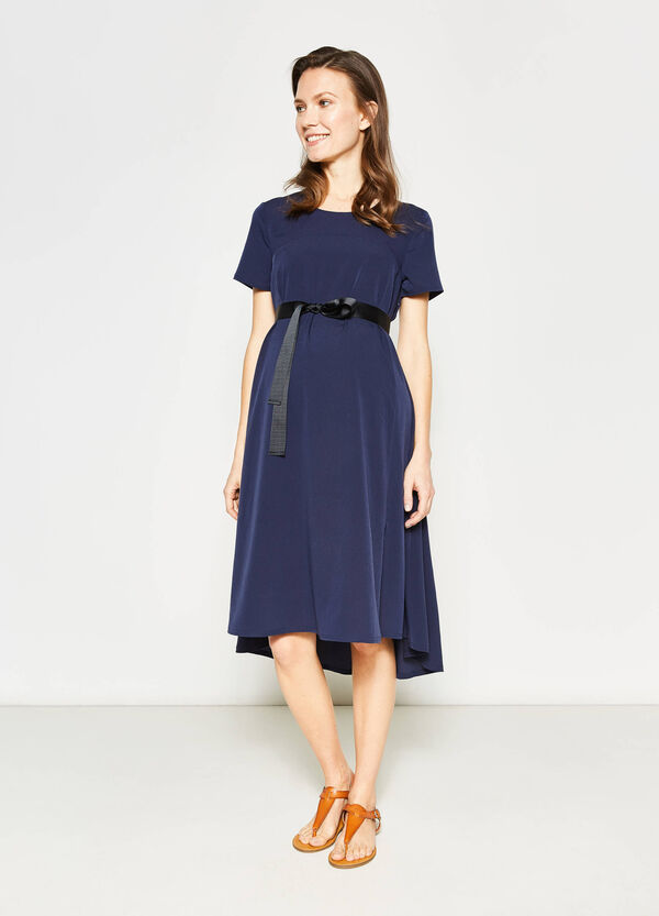MUM dress with knotted belt | OVS