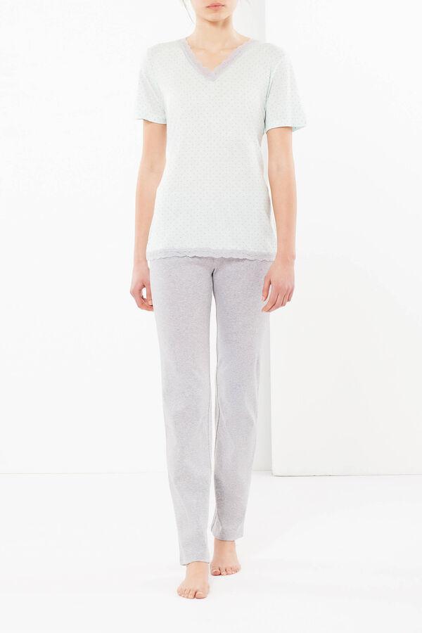 Polka dot sleep shirt | OVS