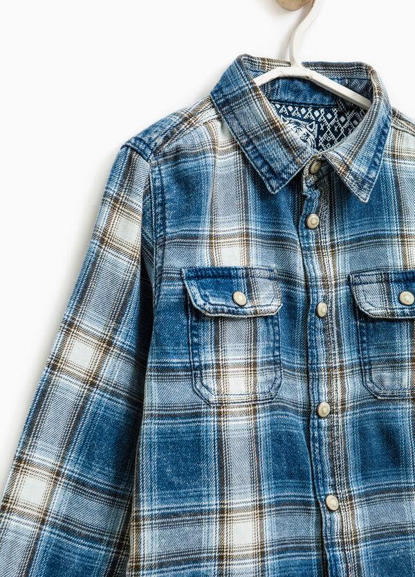 Camisa de cuadros de algodón | OVS